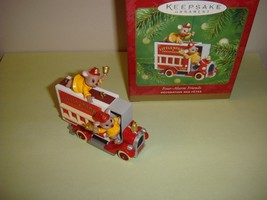 Hallmark 2001 Four Alarm Friends Ornament - $10.49