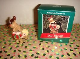 Hallmark 1989 Deer Disguise Ornament - $8.99