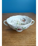 Royal Doulton China Hampshire based on Cutts Cream Soup Bowl Double Hand... - $11.88