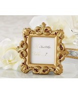 """Royale"" Gold Baroque Place Card Photo Holder W... - $4.53"