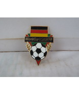 Team Germany Soccer Pin - 1994 World Cup by Peter David - Flag and Ball - $15.00