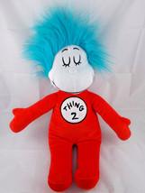 "Dr Seuss Thing 2 Plush 18"" Universal Studios Stuffed Animal toy - $6.95"