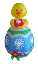 Easter Inflatable Babt Chick Egg Flower Lawn Spring Indoor Outdoor Decor... - $55.00