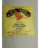 Bell brand AutoHarp Strings E or 3 middle octave 1, 2, 2 3/4 (a12-15) - $14.85