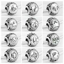 925 Sterling Silver Star Zodiac Original Pandora Charm Bracelet Jewelry - $13.80