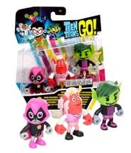 """Teen Titans Go! Trigon, Happy Raven & Beastboy Exclusive 2"""" Mini Figures... - $14.88"""