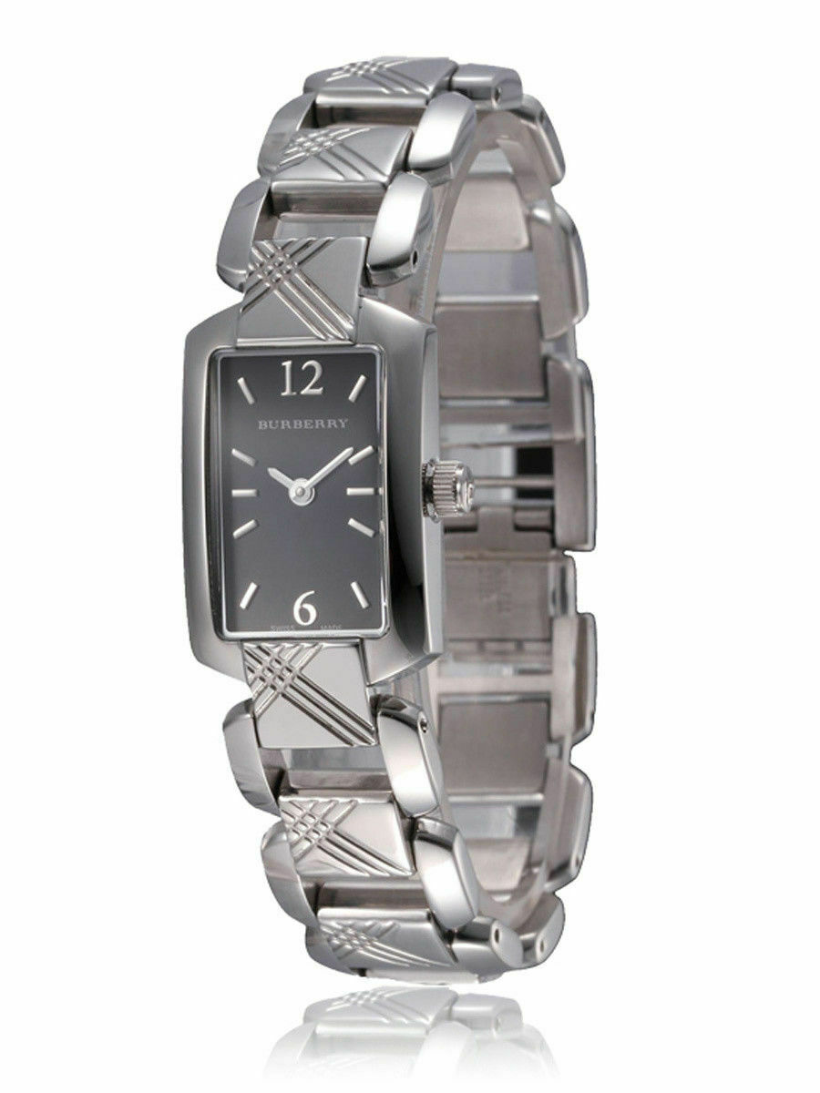 Burberry BU4210 Heritage Black Dial Swiss Made Womens Watch