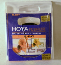 Hoya Both Sides Coated FL-Day Filter 49mm - $10.00