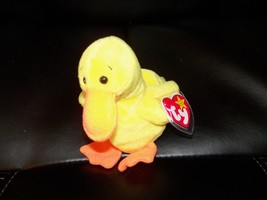 TY Beanie Baby Quackers Duck Retired NEW LAST ONE - $44.99
