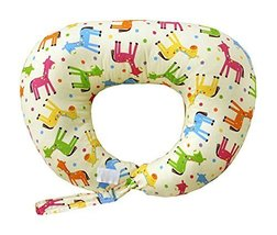 Multi-function Postpartum Breast Feeding Pillows Nursing Pillow YELLOW Horses