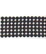 "2 yards Black Plastic Diamond Mesh Wrap Roll Ribbon embellishment 4.5"" wide - $6.92"