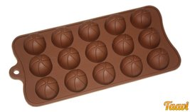 """Taavi """"Beach Volleyball"""" Silicone Mold (Chocolate, Candy, Ice Cube) (T826) - ₨733.88 INR"""