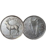 Southern Ireland 1 One Punt Coins Eire Hibernia 1971 - 2008  - ₨386.93 INR