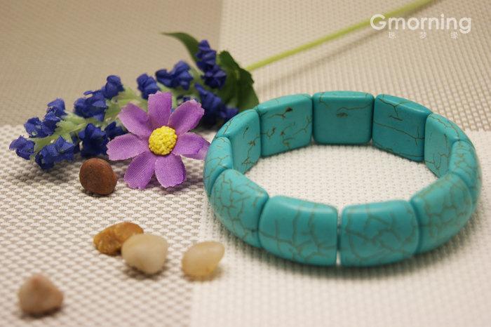 Free Shipping -  100% natural Turquoise meditation yoga  Prayer Beads charm brac