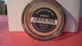 1 Bare minerals Playful Glimpse Mineral Eyeshadow Sealed .02oz/.57G - $7.99