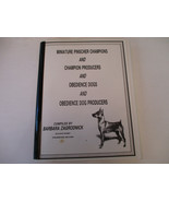 Miniature Pinscher Champions Producers Obedience Pet Dog Resource Listing - $28.67