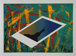 "James Bauman ""Statue of Liberty"" 1986 - S/N Silkscreen - Retail $1.5K - COA - $1,050.00"