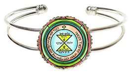 Solomons 3rd Venus Seal for Love, Respect & Admiration Silver Cuff Bracelet - $14.95