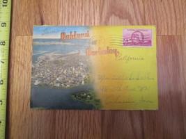 Oakland and Berkeley California CA Souvenir Folder Postcard - $2.99