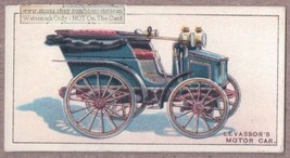 Levassor's Motor Car 1895 Paris Bordeaux Trail 1915  Ad Trade Card - $3.59