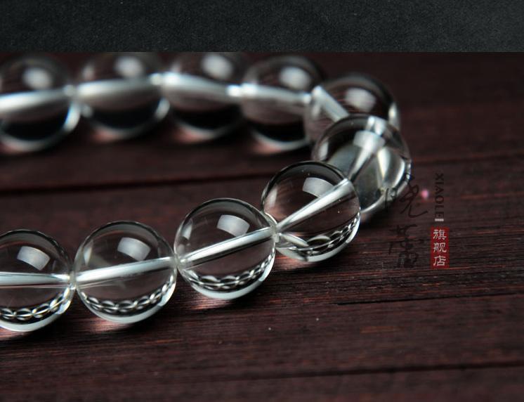 Free Shipping - 15 mm beads  Tibetan  Natural white crystal / quartz  Meditation