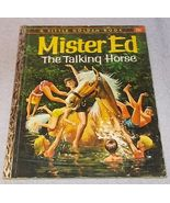 Little Golden Book Mr Ed the Talking Horse 1962 A Printing - £9.41 GBP