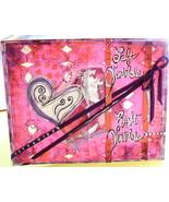 Handmade Card Romance Valentine's Day Hearts Me... - $3.70