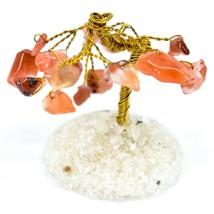 Polished Carnelian Gemstone Miniature Gem Tree Mini Gemtree image 2
