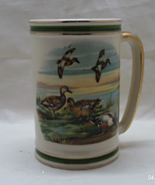Vintage HYALYN POTTERY Large Collectible Duck Mug // Beer Stein  - $15.00