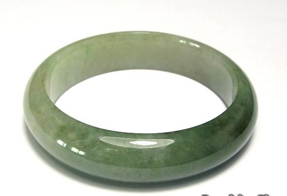 Free Shipping - (Adjustable your size 54MM-60MM)....Natural dark Green jadeite j