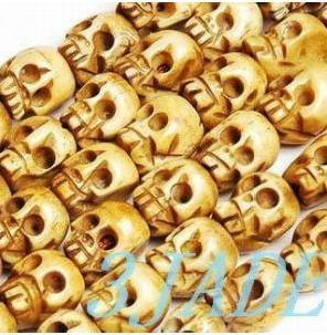 "Free Shipping -  47"" Tibetan buddhist  Hand - Carved Skull 108 Meditation yoga P"