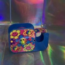 Vintage Lisa Frank Tape Express Dispenser  Smile Happy Face  Design W TAPE image 1