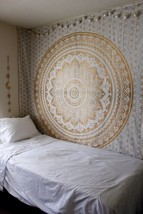 Twin Hippie Indian Decor Mandala Tapestry Wall Hanging Throw Bohemian Be... - $292,42 MXN