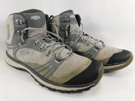 Keen Terradora Mid Top Size 8.5 M (B) EU 39 Women's WP Hiking Boots Grey 1016505