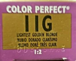 Wella Color Perfect Permanent Haircolor 11G Lightest Golden Blonde - $9.49
