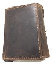 Paul & Taylor Hunter Buffalo Leather RFID trifold 51314 - $26.95