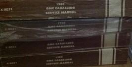 1980 GMC CABALLERO TRUCK Service Shop Repair Manual OEM FACTORY BOOK 1980 - $37.62