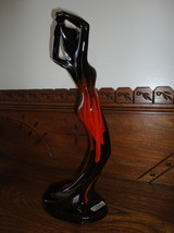 "Canada Canuck Pottery Quebec LABELLE Woman Statue Sexy Figurine 15"" Vintage - $118.61"