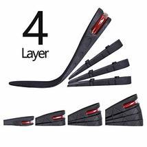 4-Layer Unisex Height High Increase Shoe Insoles Lifts for Men Women Shoe Pad Li image 10