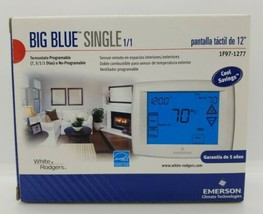 Emerson 1F97-1277 Blue Series 12 Touchscreen Thermostats , 7, 5-1-1 Programs, 1 - $102.60
