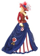 Thomas Kinkade Freedom's in Fashion Collection O Say can you see 9932A 2... - $31.49