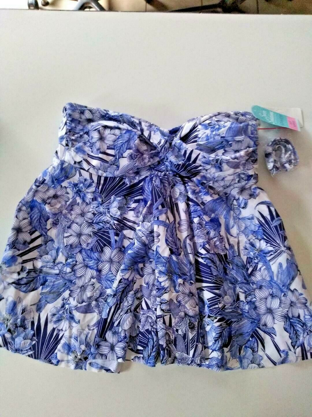 Swim Solutions Seperates Bust Support Fly Away Top Size 10