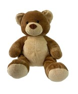 "Build a Bear 14"" Plush Teddy Brown Tan Two Tone Stuffed Animal BAB - $22.28"