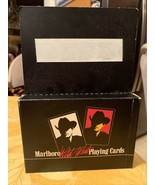 1991 Marlboro Man Marlboro Wild West Playing Cards 2 Full Decks Brand Ne... - $12.99