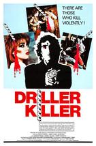 THE DRILLER KILLER (1979) - Classic B-Movie Horror - Buy 2 DVD's, Get 1 ... - $7.49