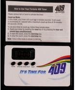 Formula 409 Spray Cleaner Digital Magnetic Timer It's Time for 409 - $16.92