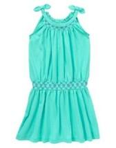 NWT Gymboree Girls Blue Safari Striped Bow Strap Dress Size 4 5 6 7 /& 8