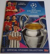 Champions League 2020-2021 Empty Album Topps Italian - $5.00