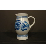 Vintage Betschdorf Alsace France Saltglazed Pottery French Country Blue... - $67.00