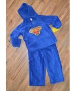 NWT Boy WB Superbaby Warm 2 pc Shirt & Pants Pajamas Set ~ Blue ~ Sz 2T - $12.19